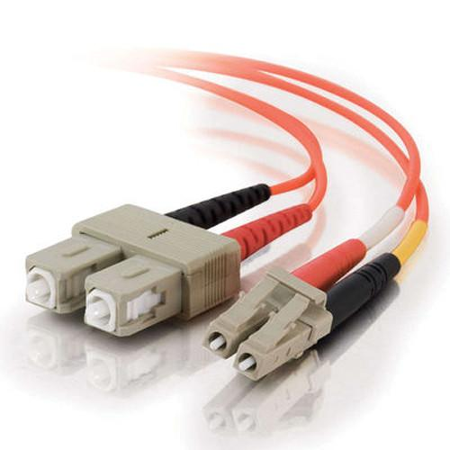 C2G 15 m LC/SC Duplex 62.5/125 Multimode Fiber Patch Cable 33160