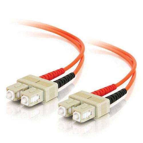 C2G 5m SC/SC Duplex 62.5/125 Multimode Fiber Patch Cable 09116