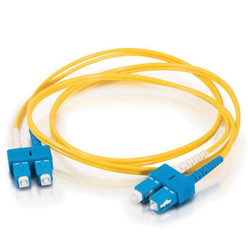 C2G SC to SC Duplex 9/125 Single Mode Fiber Patch Cable 16816