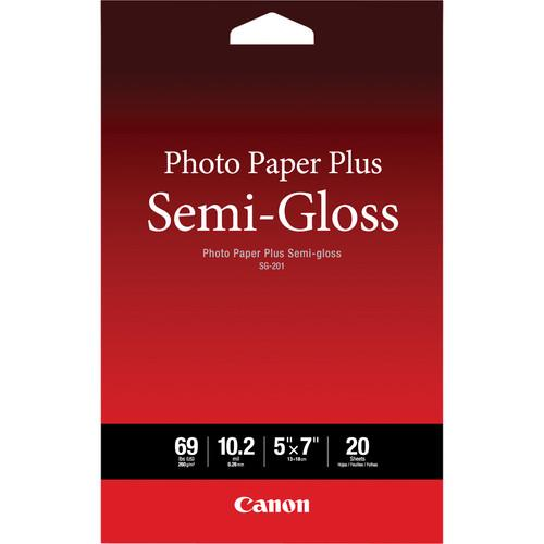 Canon SG-201 Photo Paper Plus Semi-Gloss 1686B061