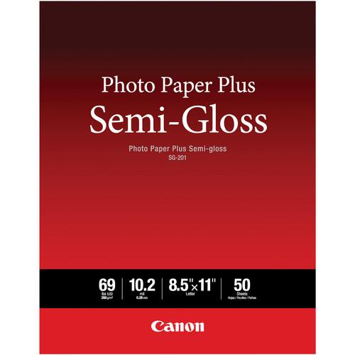 Canon SG-201 Photo Paper Plus Semi-Gloss 1686B063