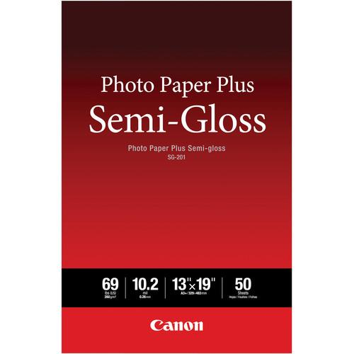 Canon SG-201 Photo Paper Plus Semi-Gloss 1686B064