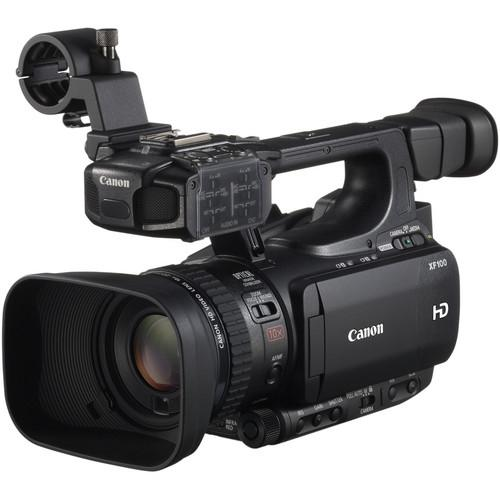 Canon XF100 HD Professional Camcorder with Light & Extended