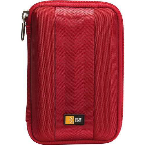 Case Logic QHDC-101 Portable Hard Drive Case (Red) QHDC-101-R