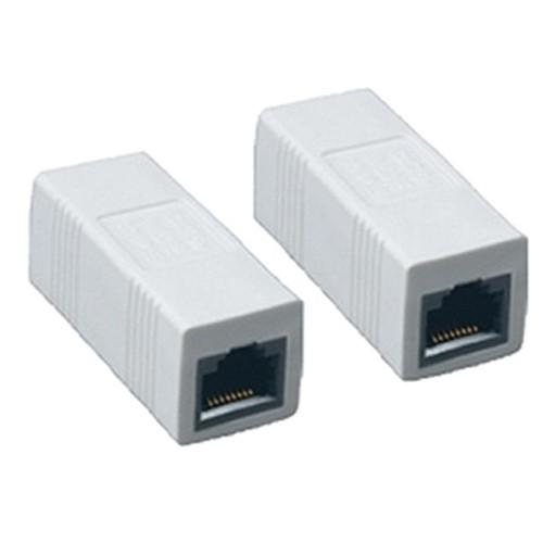 Comprehensive Cat 5e Jack to Jack Inline Coupler White ILC-C5EW