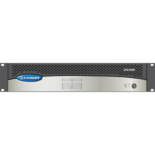 Crown Audio CTs 1200 2-Channel Amplifier CTS1200USP4CN