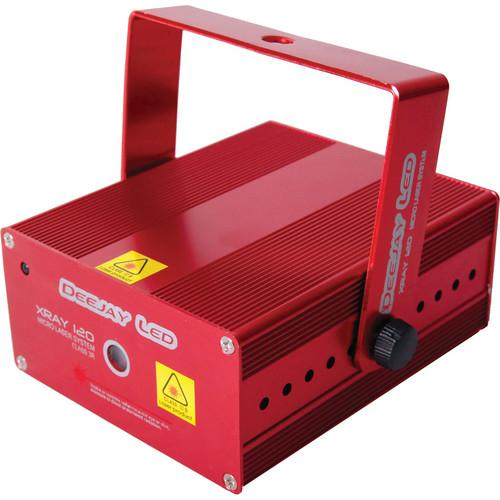 DeeJay LED Xray 120 Micro Laser System (Red) XRAY-120