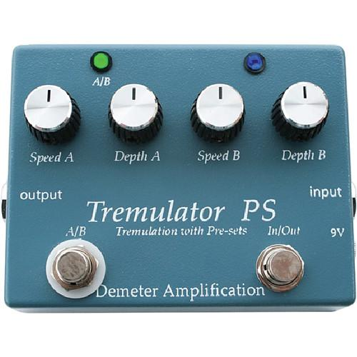 Demeter TRM-PS Tremulator PS Tremolo Pedal TRM-PS