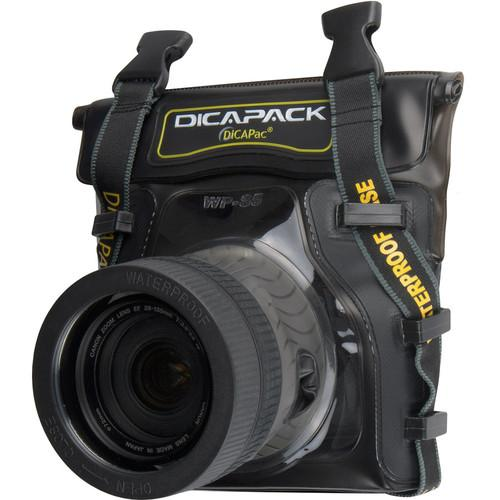 DiCAPac WP-S5 Waterproof Case for Small DSLR Cameras WP-S5