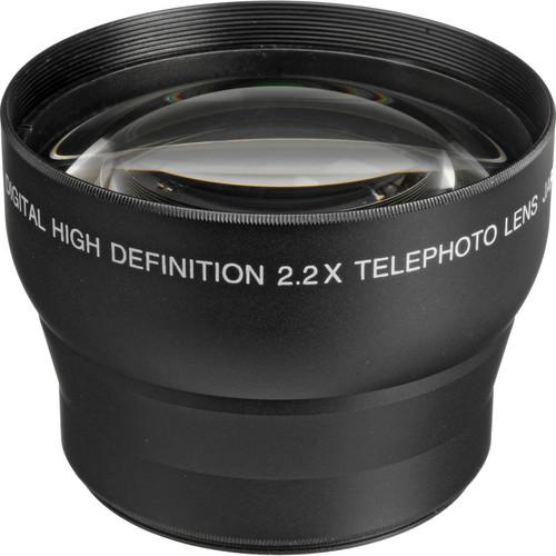 Digital Concepts 2.2x Telephoto Lens (58mm, Black) 2458T