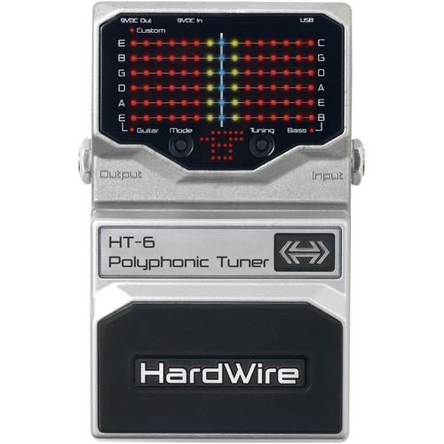 DigiTech Hardwire HT-6 Polyphonic Tuner Pedal HT-6