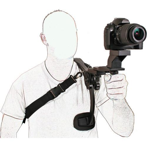 Dot Line Video Stabilizer with Grip and Quick Release DL-0375