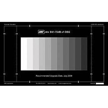 DSC Labs 72-dB 13-Step GrayScale (Combi Chart) CDX1-32W