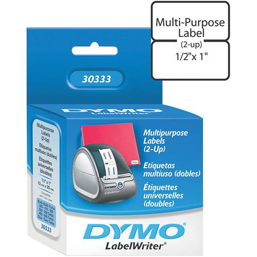 Dymo LabelWriter Extra Small Multipurpose (2-up) Labels 30333