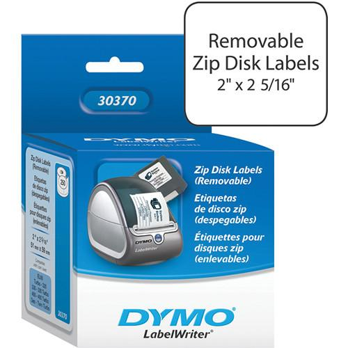 Dymo LabelWriter White ZIP Drive (Removable) Labels 30370
