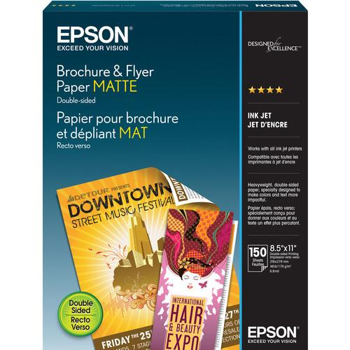 Epson Brochure/Flyer Paper Matte for Ink Jet 8.5 x S042384