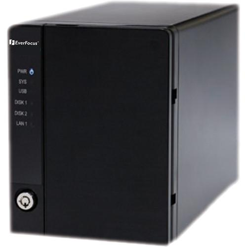EverFocus NVR-216 8-Channel Mini Network Video NVR208/4T