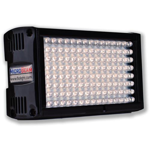 Flolight Microbeam 128 LED On Camera Video Light LED-128-SDS