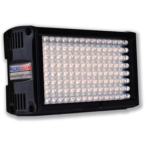 Flolight Microbeam 128 LED On Camera Video Light LED-128-STF