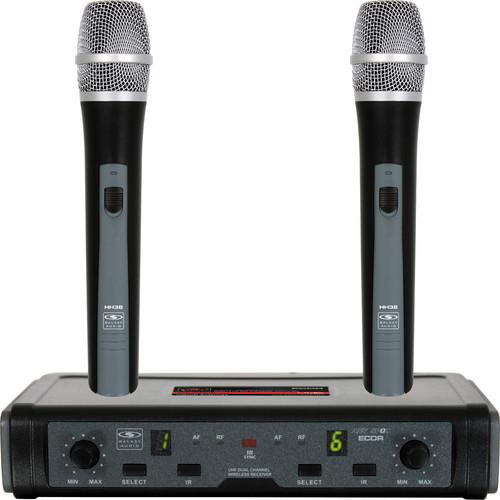 Galaxy Audio ECD Wireless Microphone System ECDR/2HH38-D