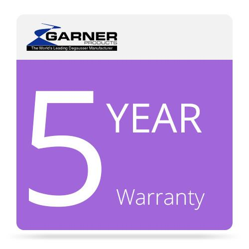 Garner 5-Year Factory Warranty for HD-2 Hard Drive and 5FW-HD2