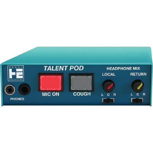 Henry Engineering Talent Pod Microphone & Headphone TP