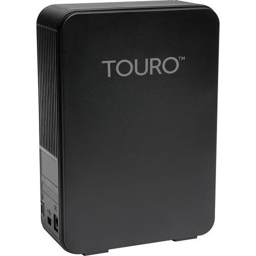 HGST 4TB Touro Desk DX3 USB 3.0 Hard Disk Drive (Black) 0S03396