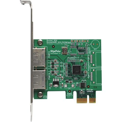 HighPoint Rocket 622M Dual eSATA 6 Gbps PCI Express 2.0 R622M