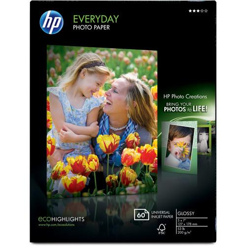 HP  Everyday Glossy Photo Paper CH097A