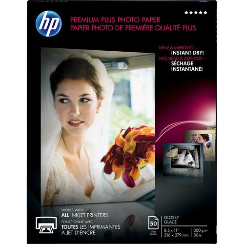 HP  Premium Plus Photo Paper, Glossy CR664A