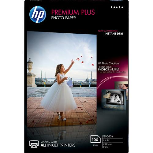 HP  Premium Plus Photo Paper, Glossy CR668A