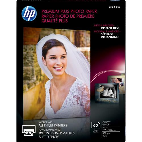 HP  Premium Plus Photo Paper, Glossy CR669A