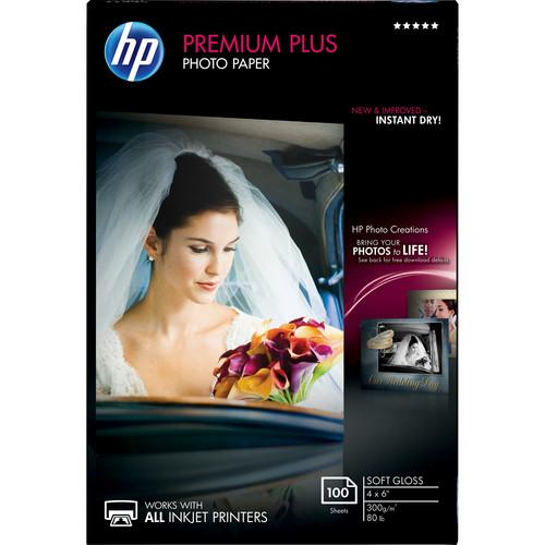 HP  Premium Plus Soft-Gloss Photo Paper CR666A