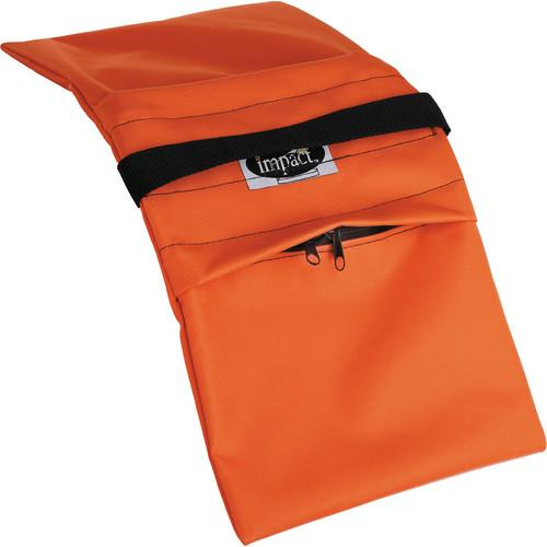 Impact Empty Saddle Sandbag - 15 lb (Orange) SBE15O
