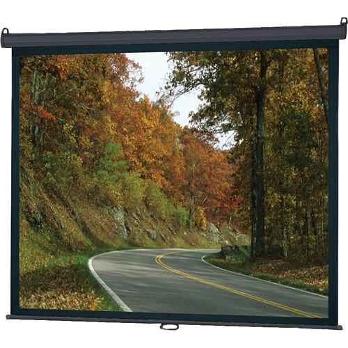 InFocus SC-MAN-100 Manual Pull Down Projection Screen SC-MAN-100