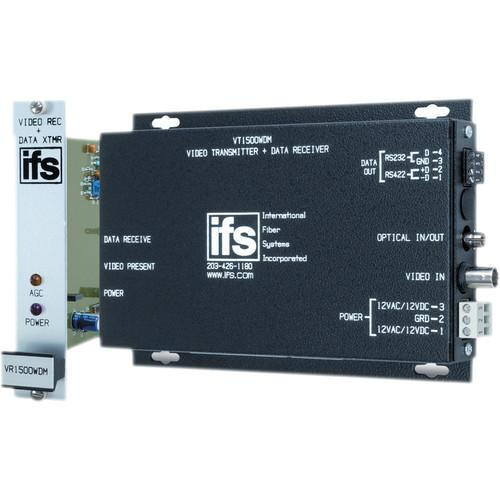 Interlogix VR1500 Video & Data Transceiver VR1500WDMR3
