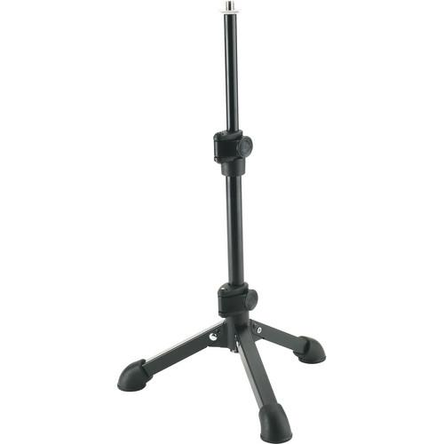 K&M 23150 Tabletop Microphone Stand (Black) 23150-500-55