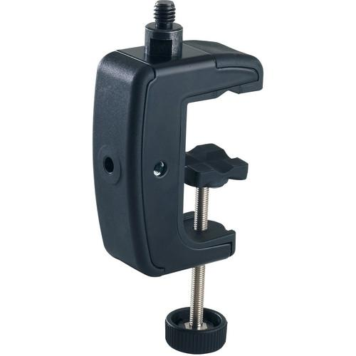 K&M 23720 Table Clamp (Black, 5/8