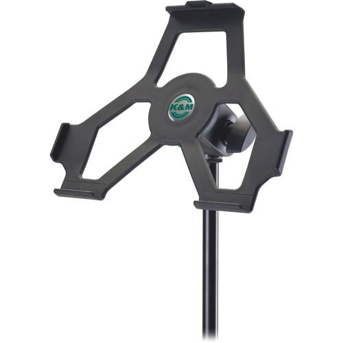K&M  iPad 2 Mic Stand Holder 19712-500-55