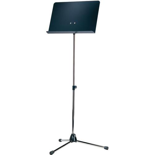 K&M Orchestra Nickel Music Stand with Black 11818-000-01