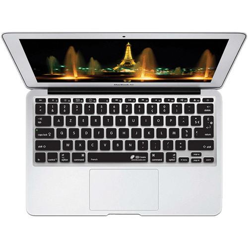 KB Covers AZERTY Keyboard Cover for MacBook Air AZY-M11-CB-2