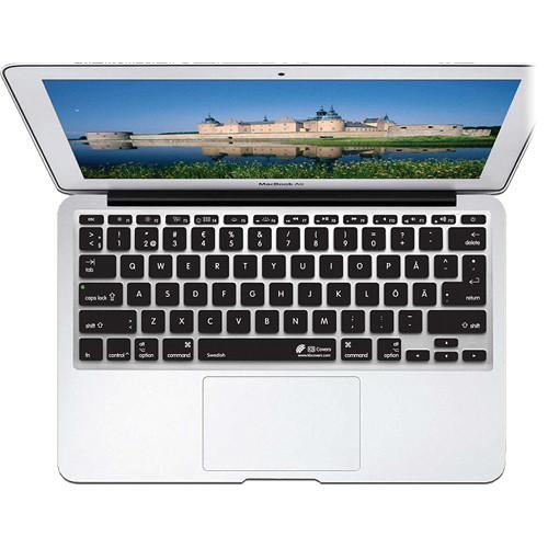 KB Covers Swedish Keyboard Cover for MacBook Air SWED-M11-CB-2