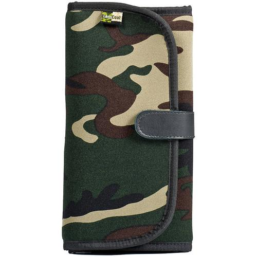 LensCoat FilterPouch 8 (Forest Green Camo) LCFP8FG