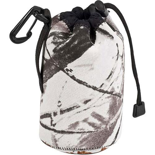 LensCoat LensPouch, Large Wide (Realtree AP Snow) LCLPLWSN