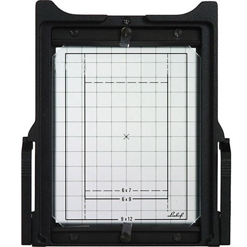 Linhof 4x5 Groundglass Frame with Gridline Groundglass 001615