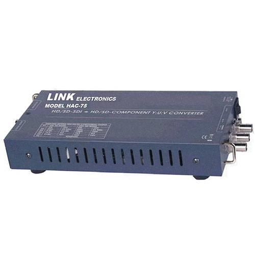 Link Electronics HD SD SDI to YUV and Composite Analog HAC-75