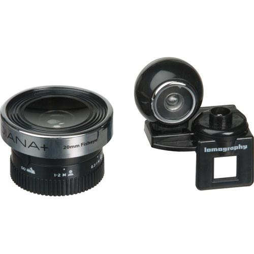 Lomography 20mm Fisheye Lens for Diana  & Diana F Camera