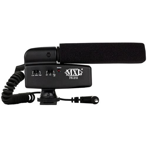 MXL  FR-310 Hot Shoe Shotgun Microphone FR-310