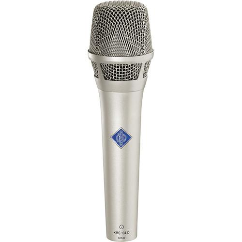 Neumann KMS104 Plus - Handheld Stage Mic (Nickel) KMS 104 PLUS