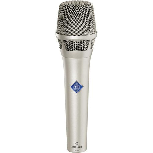 Neumann KMS104D - Digital Handheld Stage Microphone KMS 104 D NI
